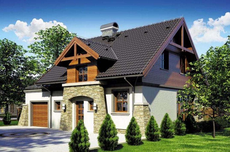 Casa rustica y bonita