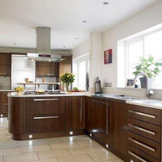 Fotos de cocinas modernas abiertas for Catalogo cocinas integrales modernas