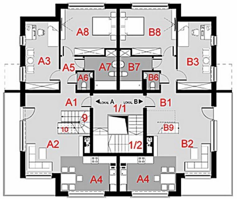 Condominio moderno planos para construir