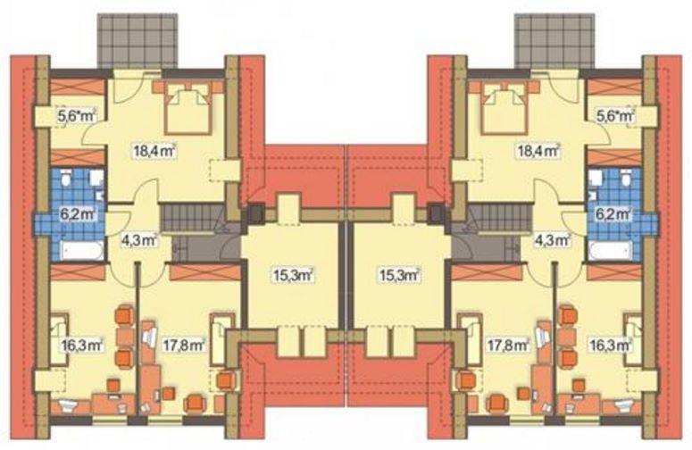 Duplex en condominio con planos