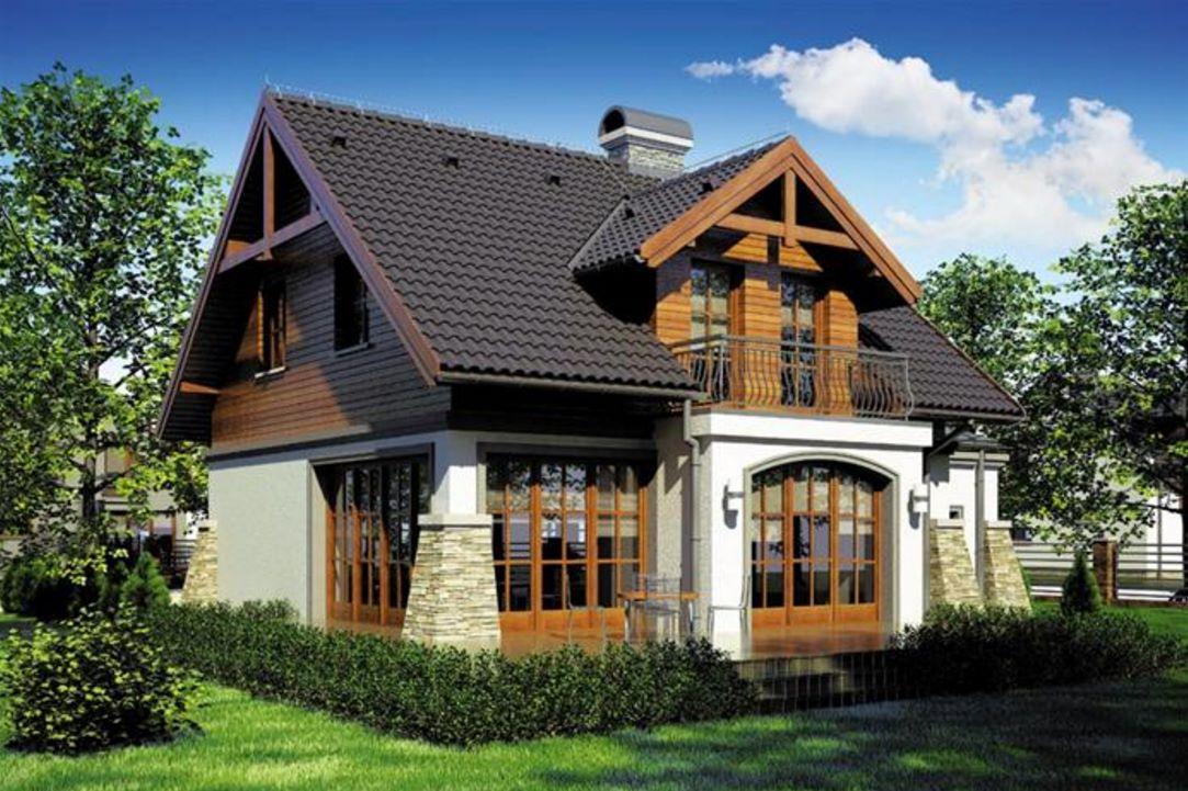 Plano de casa rustica for Casas rusticas pequenas