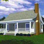Plano de casa de 9 x 11 m