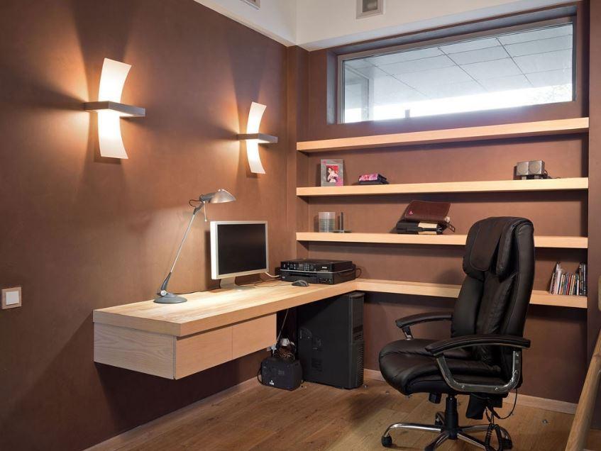 Oficina masculina decoracion