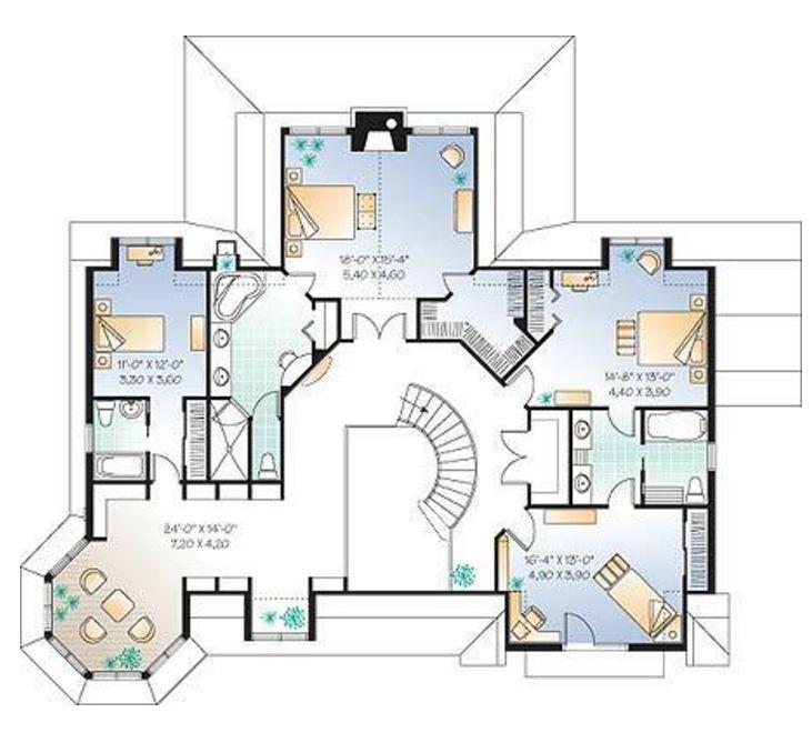 planos de casas americanas