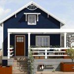 Casa angosta para terreno largo