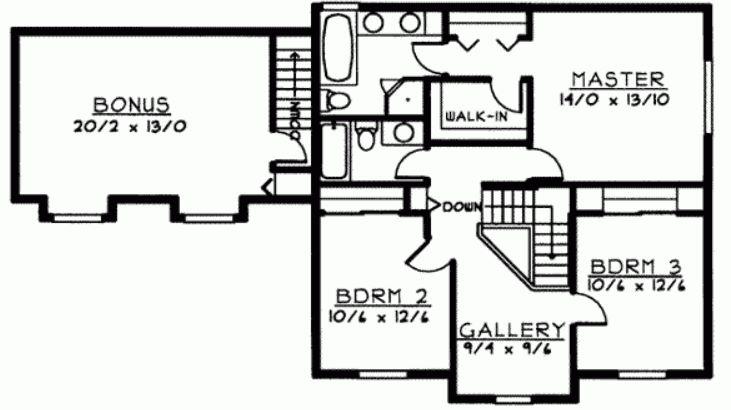 Casa de 175 metros cuadrados planta alta