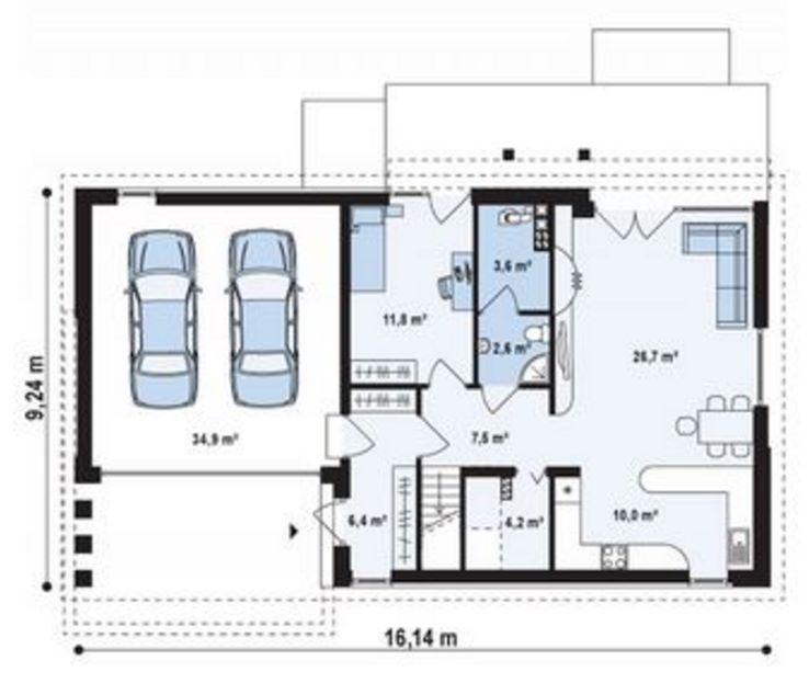 Plano casa grande 5 dormitorios