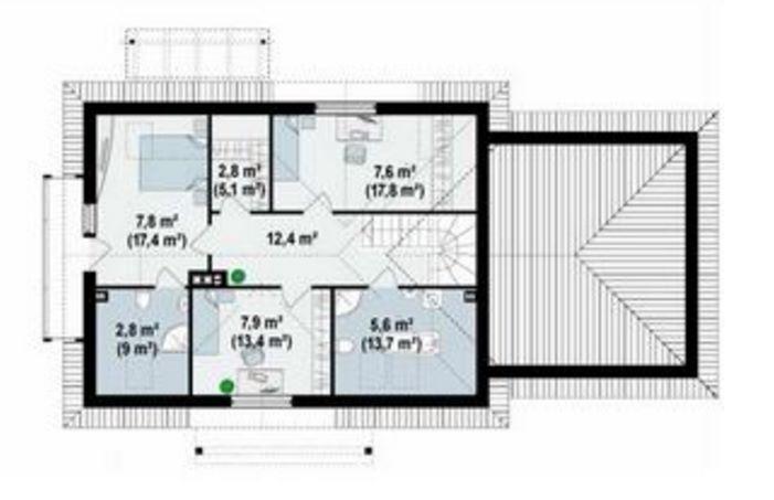 Plano de 2 pisos