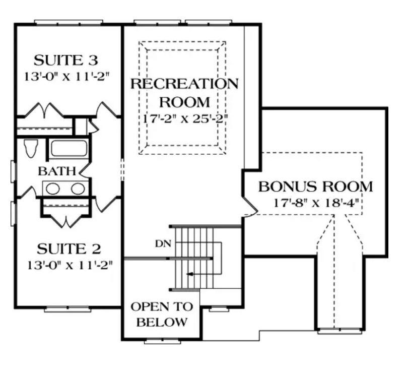 Plano de casa colonial