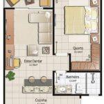 Planos de apartamentos pequeños