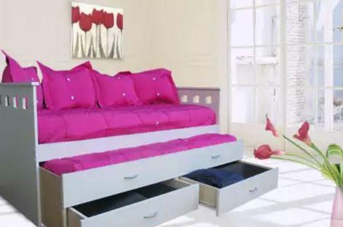 cama con cajones