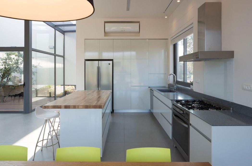 cocina moderna en casa