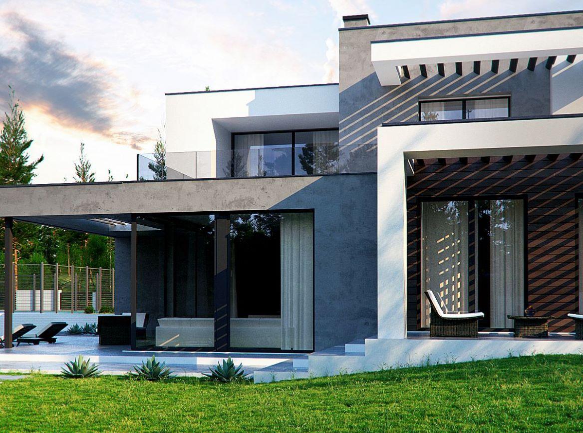 Casa moderna de 275 metros cuadrados for Casa moderna 50 metros cuadrados