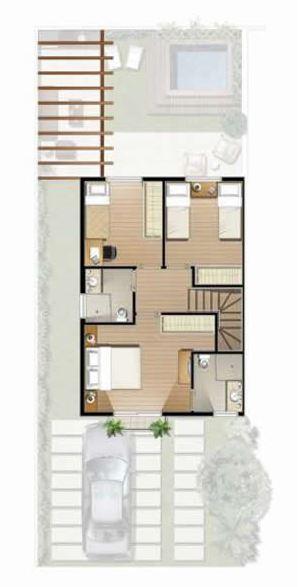 modelos-de-casas-de-dos-pisos-pequenas