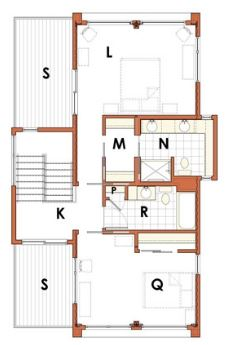modelos-de-casas-de-dos-pisos-sencillas-con-planos