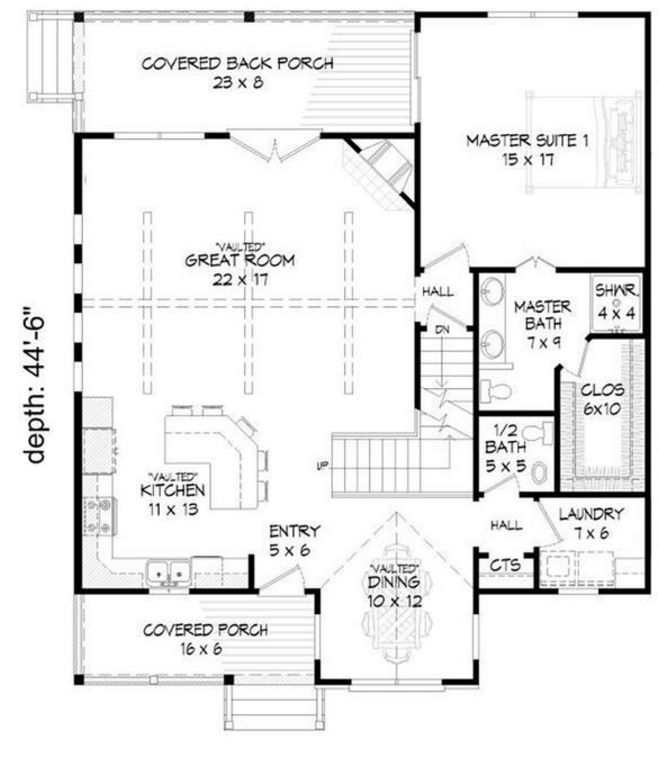 Plano de casa de madera - Planos casa madera ...