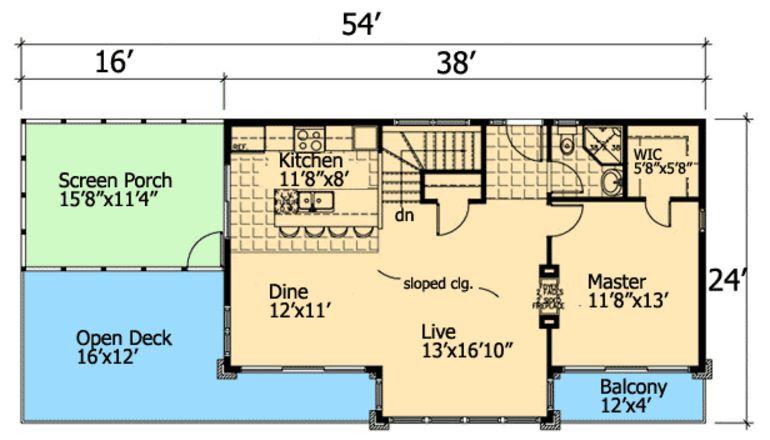 plano-de-casa-moderna-de-2-pisos-con-madera
