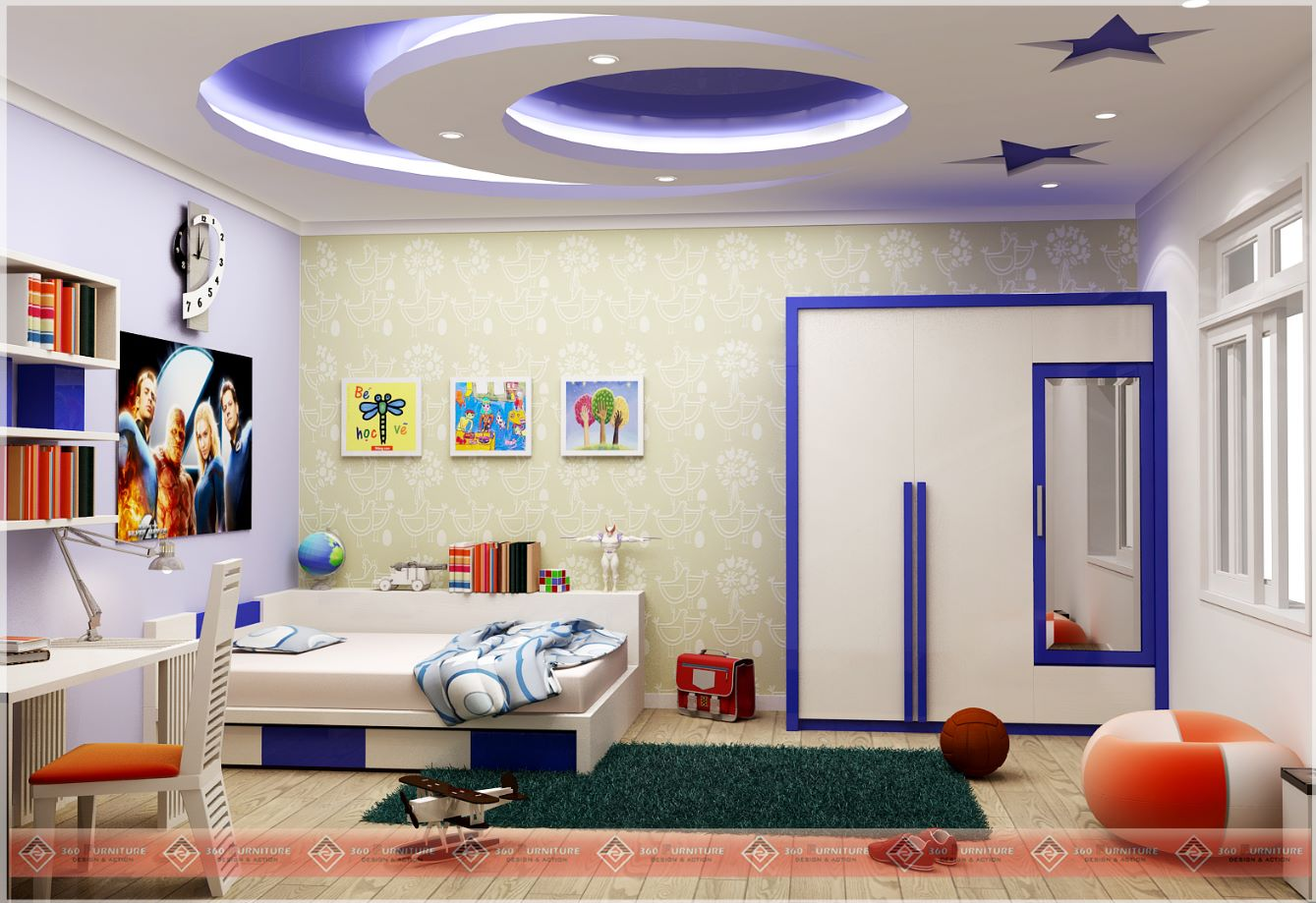 4 habitaciones for Decoracion cuartos infantiles
