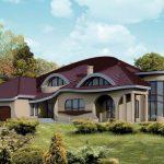 Casa con curvas