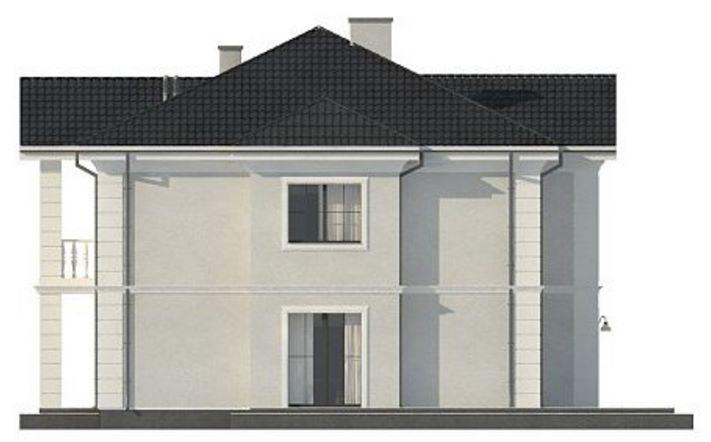 lateral casa grande con fachada imponente