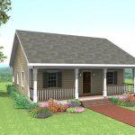 Planos de casas de campo de un piso pequeñas