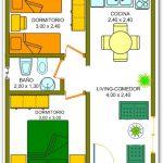 Casa de 2 dormitorios con un baño