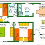 Casa de 3 dormitorios y un baño