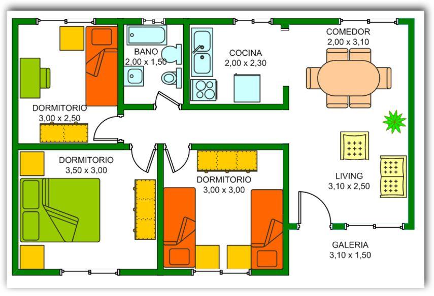 casa-de-3-dormitorios-y-un-bano
