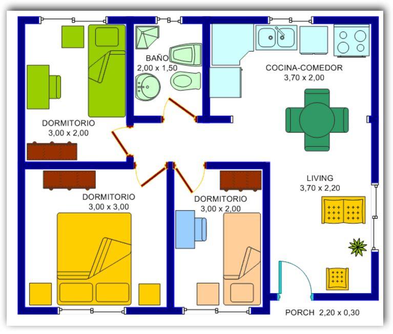 casa-de-3-habitaciones
