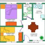 Casa pequeña de 2 dormitorios