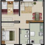 Casa pequeña de dos recamaras