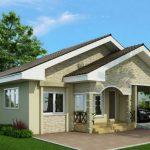 Planos de casas con techo a dos aguas