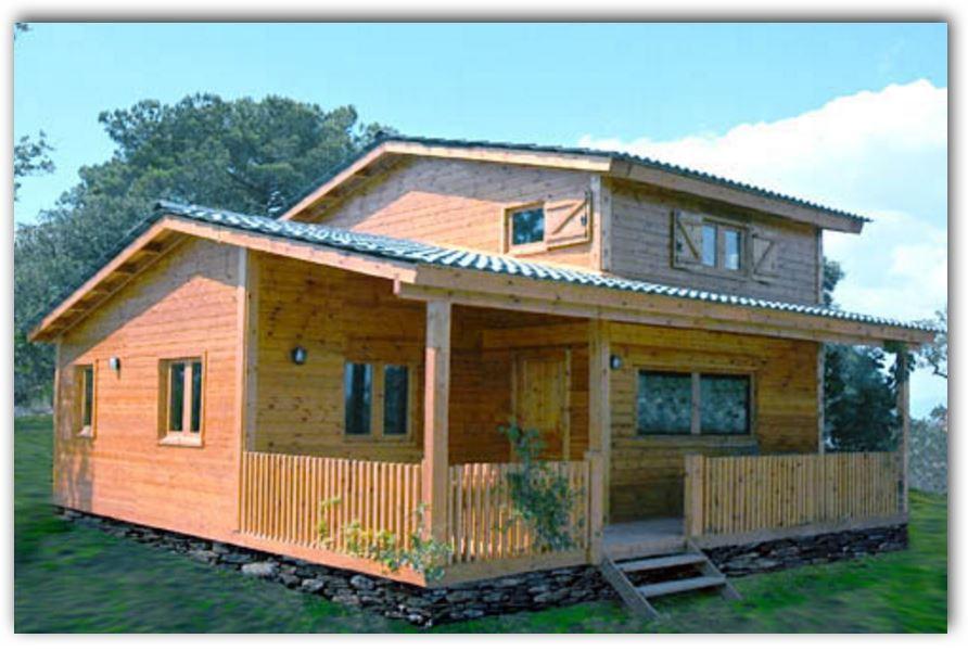 casas-de-campo-de-madera