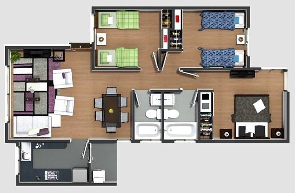 planos de casas pequenas y sencillas