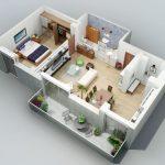 Diseño de departamentos de 1 dormitorio