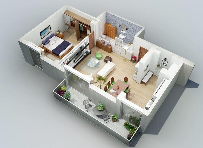 diseno-de-departamentos-de-1-dormitorio