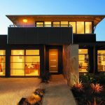 Modelo de casa de dos pisos