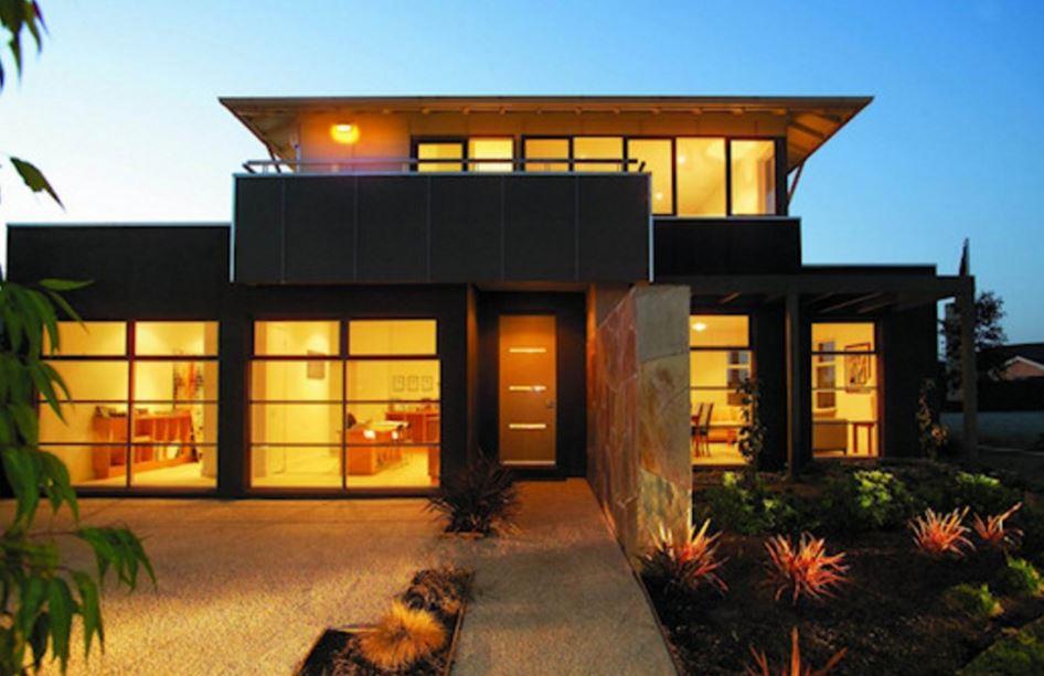 Modelo de casas de dos pisos modernas for Casas modernas fachadas de un piso
