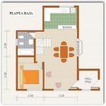 Casa de 2 plantas con planos