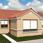 Diseño de casas pequeñas de 3 dormitorios