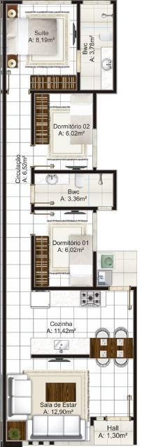Planos de casas de 5 metros de ancho for Fachadas de casas modernas entre medianeras