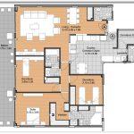 Departamento de 3 dormitorios y amplio balcón