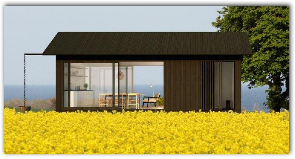 Casa minimalista peque a for Ver fachadas de casas minimalistas