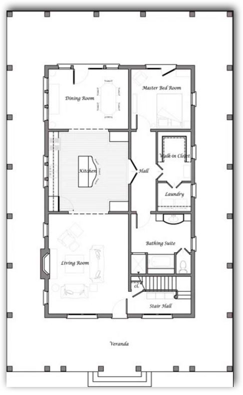 Casa de 2 pisos y 240 metros cuadrados for Precio construir casa 120 metros
