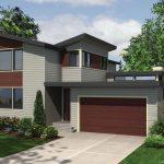 Diseño de casa con espacios abiertos