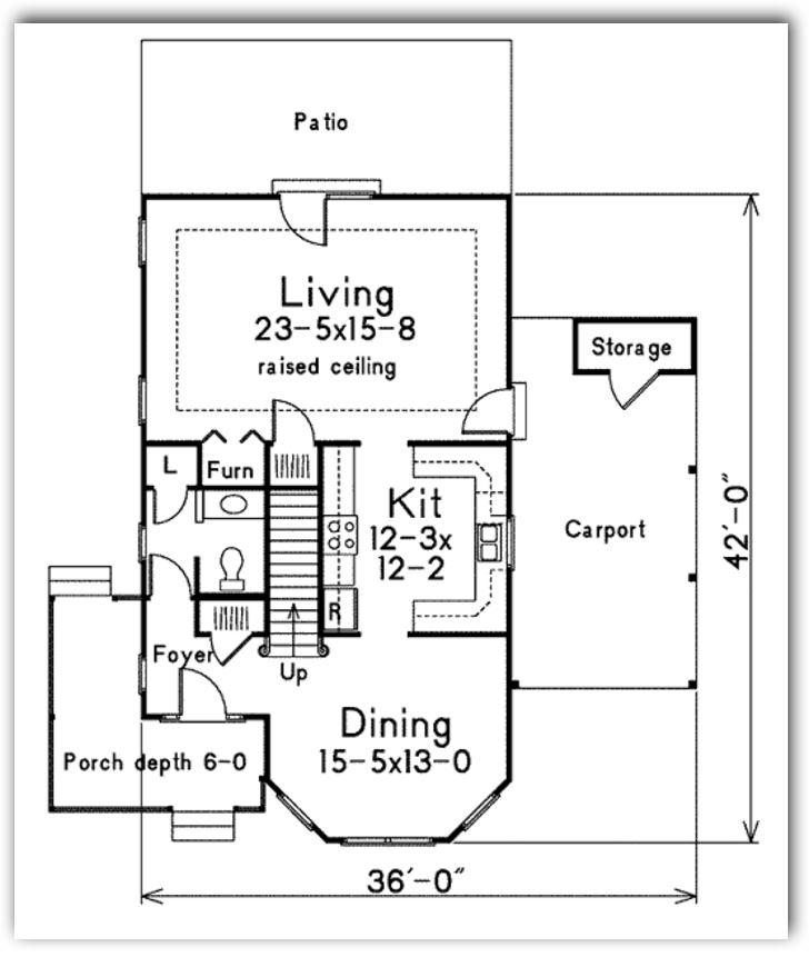Plano de casa de madera - Planos casa de madera ...