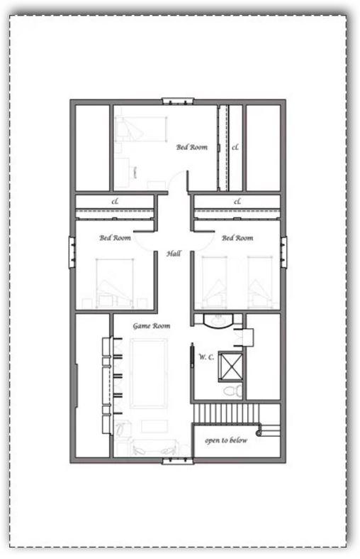 modelo-de-2-pisos-y-4-dormitorios