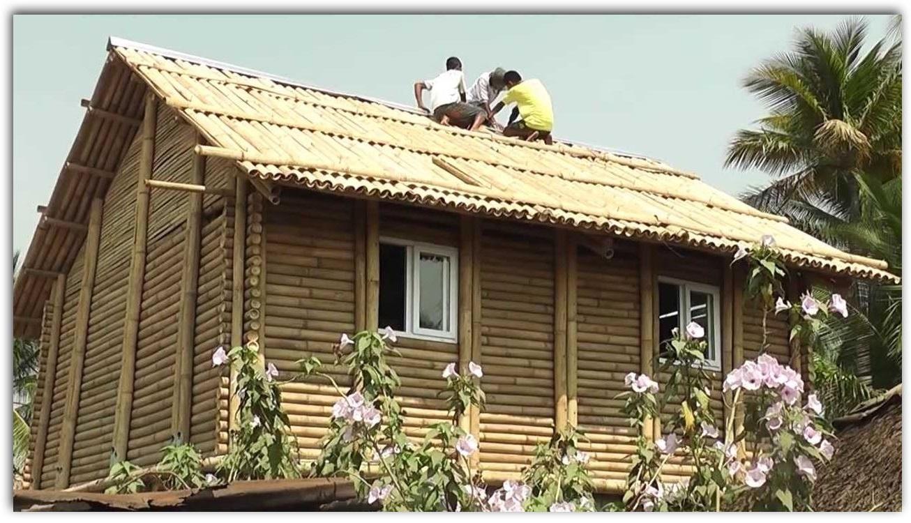 Casas de bamb - Casas de materiales ...