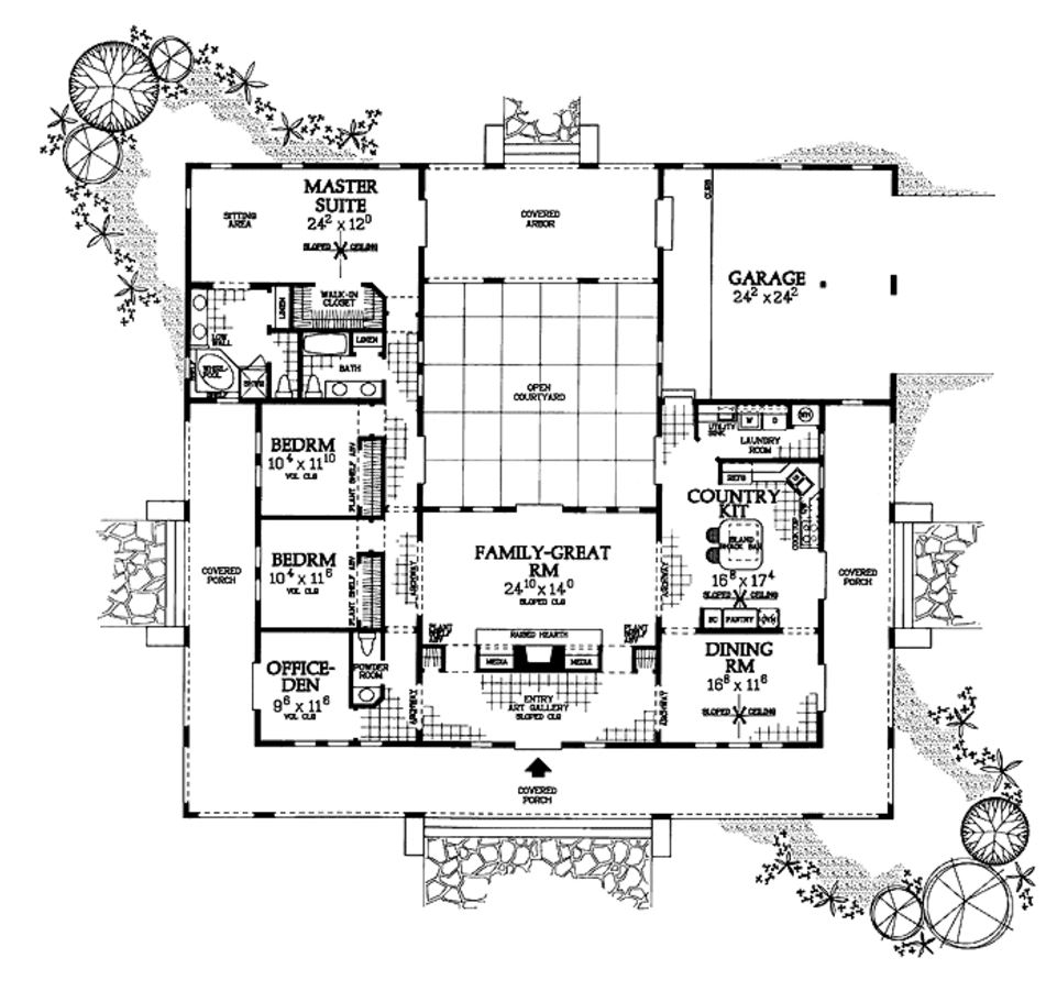 plano-de-casa-estilo-espanol