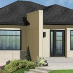 Plano de casa de 80 metros cuadrados